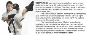 Whistlekick. 1